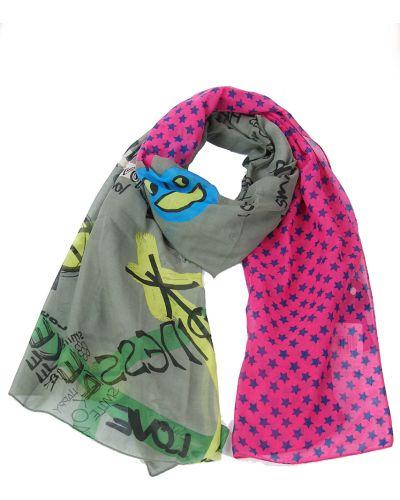 Розовый шарф Passigatti