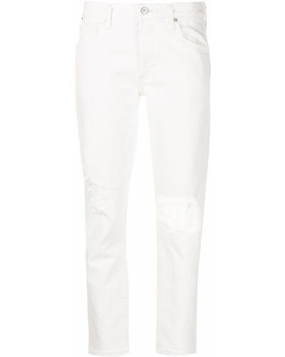 Прямые белые джинсы классические с карманами Citizens Of Humanity