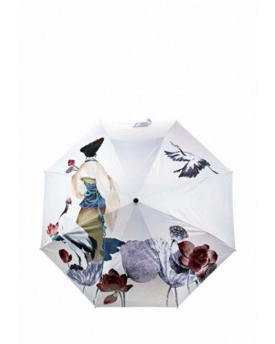 Бежевый зонт складной Vera Victoria Vito