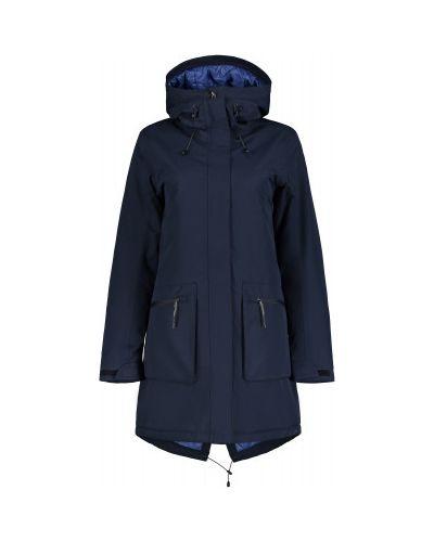 Синяя приталенная куртка Icepeak