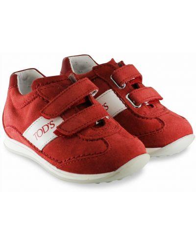 Czerwone sneakersy Tod's