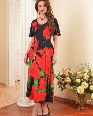 Летнее платье макси с цветочным принтом Salvi-s