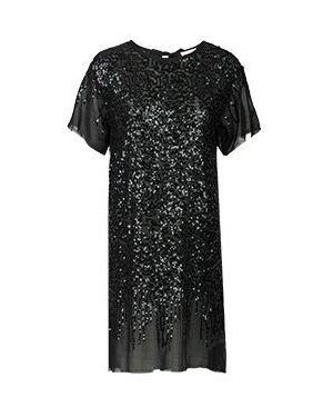 Коктейльное платье черное Semicouture