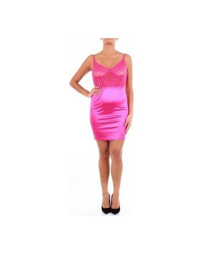 Fioletowa sukienka mini Saint Genies