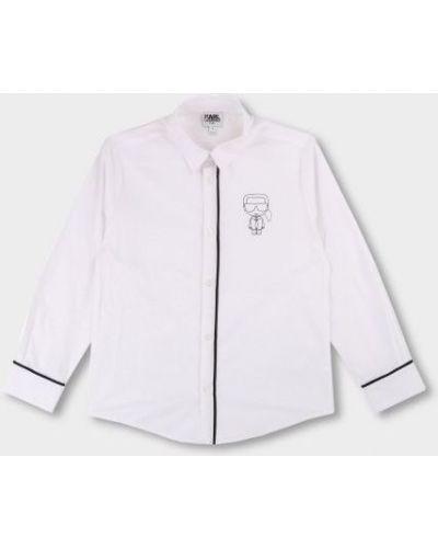 Брендовая рубашка Karl Lagerfeld
