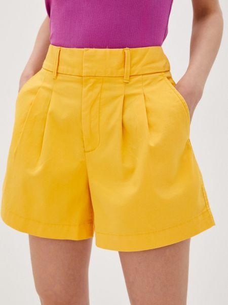 Повседневные желтые шорты Gap