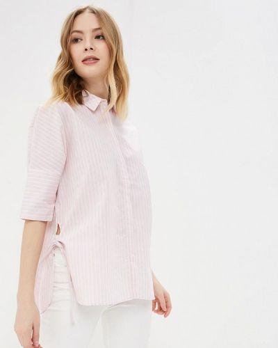 Рубашка с длинным рукавом розовый Befree