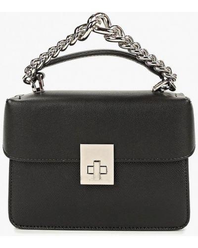 Кожаный сумка через плечо черный Aldo