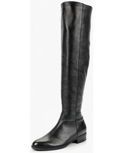 Ботфорты на каблуке кожаные Winzor