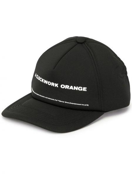 Czarny kapelusz Undercover