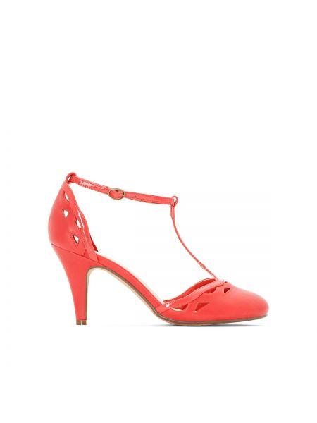 Туфли на высоком каблуке кожаные на шпильке на каблуке Castaluna