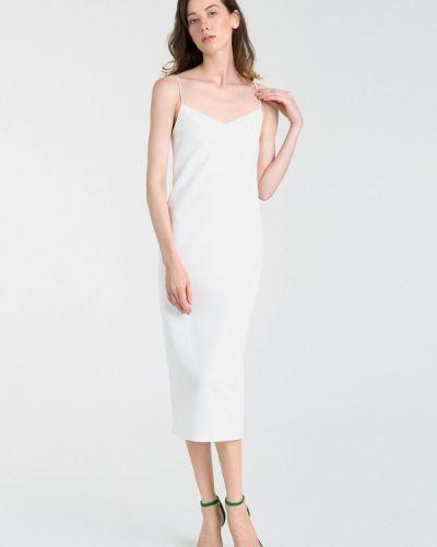 Платье-комбинация - белое Magnetic