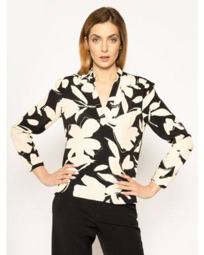 Bluzka z falbanami Calvin Klein