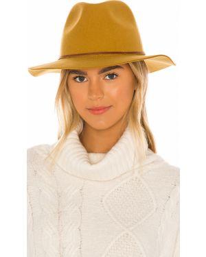 Żółty kapelusz wełniany Brixton