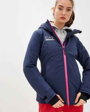 Горнолыжная куртка осенняя синий Ea7