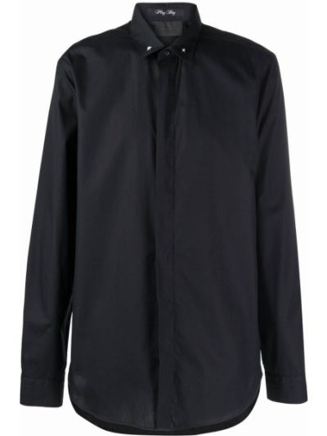 Czarna koszula bawełniana Philipp Plein