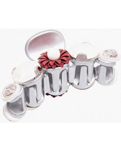 Заколка из серебра серебряного цвета Aiyony Macie