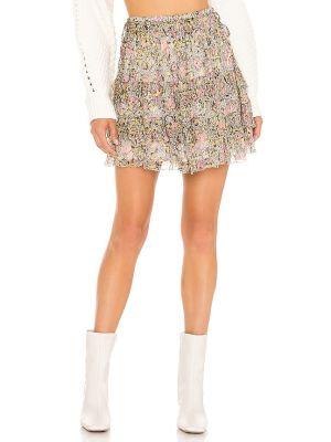 Różowa spódnica vintage Tularosa