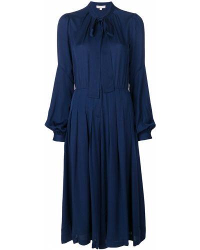 Платье миди рубашка вязаное с V-образным вырезом Michael Michael Kors