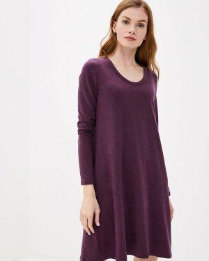 Повседневное платье осеннее фиолетовый Gap