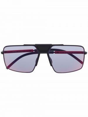 Okulary - czarne Prada Eyewear