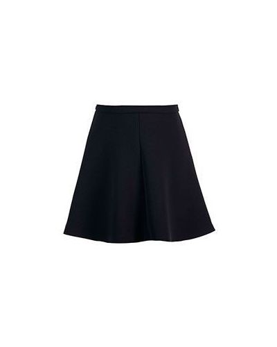 Черная юбка миди Valentino Red