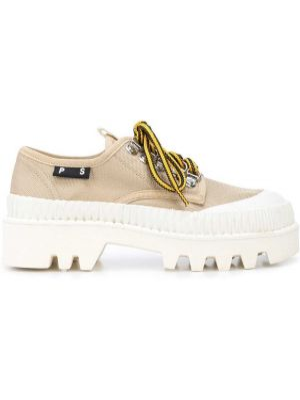 Хлопковые туфли на шнуровке Proenza Schouler