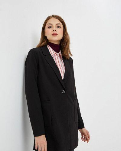 Черный пиджак осенний Only