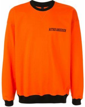 Оранжевый свитер Astrid Andersen