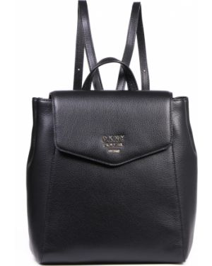 Кожаный рюкзак вместительный Dkny