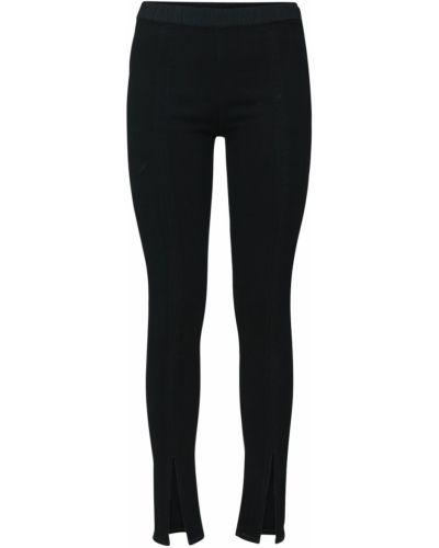 Черные джинсовые леггинсы Rick Owens