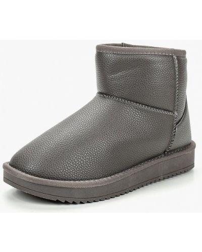 Полусапожки серые Max Shoes