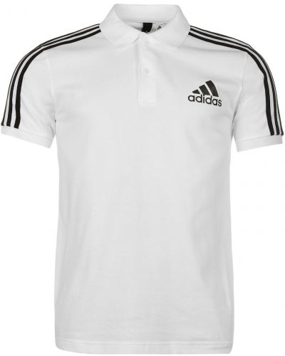 T-shirt bawełniana - biała Adidas