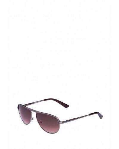 Солнцезащитные очки серебряного цвета Enni Marco