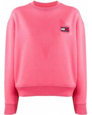 Топ розовый с вышивкой Tommy Jeans