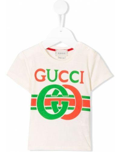 T-shirt z printem Gucci