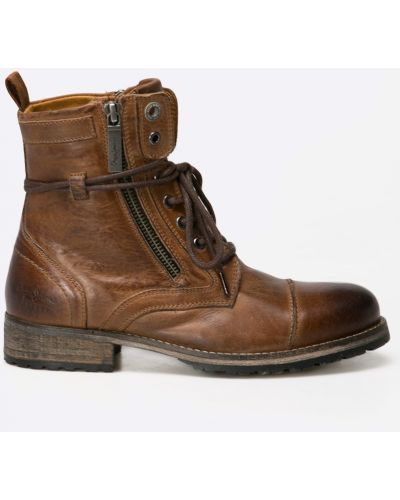 Джинсы на шнуровке на шнурках Pepe Jeans