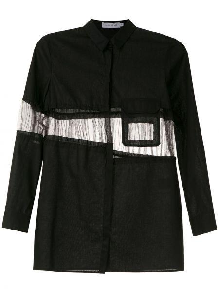 Рубашка прозрачная - черная Mara Mac