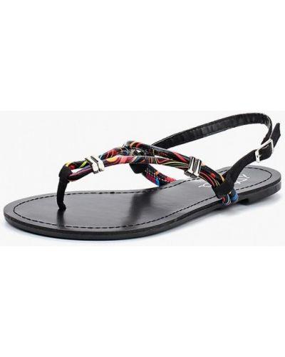 Черные сандалии Isteria