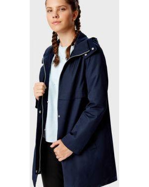 Пальто с капюшоном на кнопках с принтом Ostin