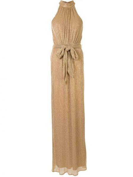 Платье с завышенной талией с рукавами Halston Heritage