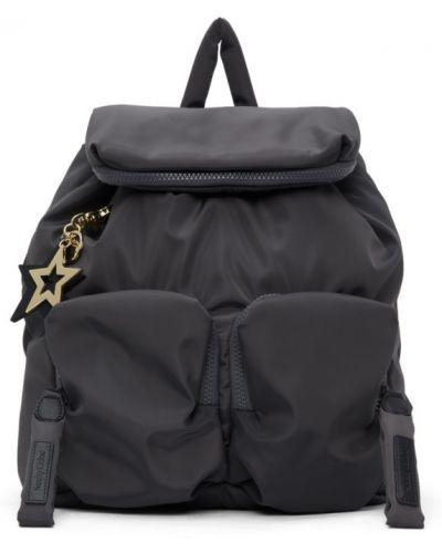 Czarny plecak skórzany See By Chloe