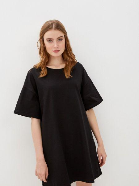 Платье футболка черное Raimaxx
