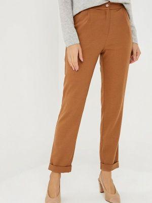 Коричневые классические брюки Fashion.love.story