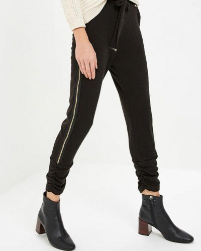 Черные брюки повседневные Rinascimento