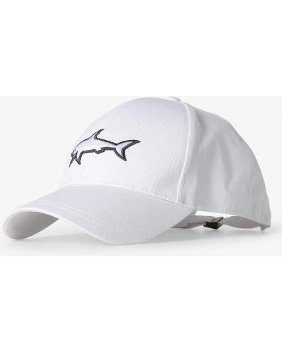 Biała czapka sportowa na co dzień Paul & Shark