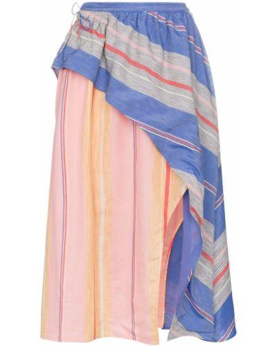 Ажурная розовая юбка макси A Peace Treaty