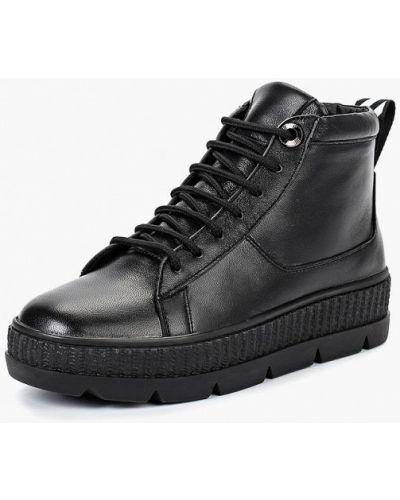 Кожаные ботинки осенние высокие Hcs