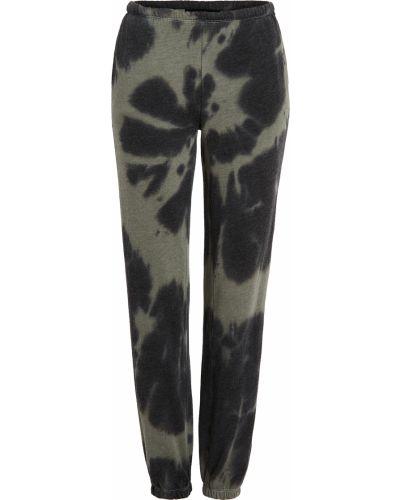 Флисовые черные брюки на резинке Generation Love