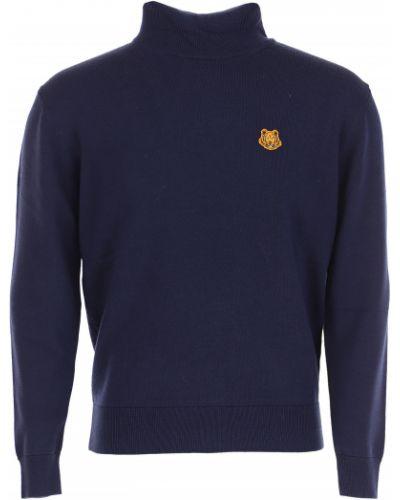 Bawełna bawełna z rękawami pomarańczowy sweter Kenzo